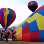 Balloons & Tunes Roundup kicks off in Kanab, Utah, Feb. 27, 2015 | Photo by Cami Cox Jim, St. George News