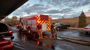 Packing up after the fire, St. George, Utah, Feb. 7, 2015   Photo by Mori Kessler, St George, Utah