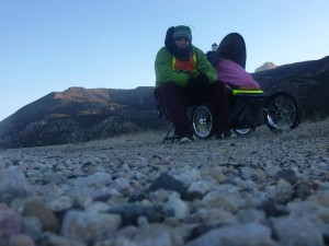 """""""Utah's Forrest Gump,"""" Joshua Bryant on his journey running across the state of Utah, date and location unspecified 