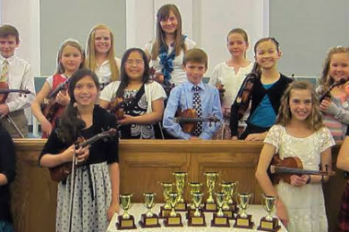 String Gold Cup recital in Cedar City, Utah, 2014   Photo courtesy of Sara Penny, St. George News