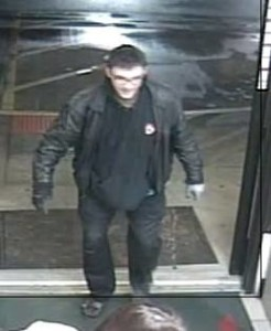 Suspect in credit card theft and fraud in St. George.