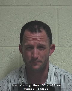 Jeremy Williams, booking photo posted March 14, 2015 | Photo courtesy of Iron County Sheriff's booking, St. George News