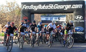 True Grit Epic mountain bike race, Santa Clara, Utah, March 14, 2015 | Photo by Robert Hoppie, ASPpix.com, St. George News
