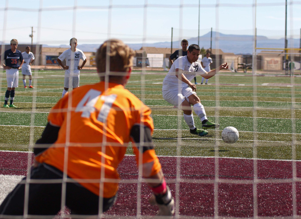 It was a busy day of soccer around town, St. George, Utah, Mar. 14, 2015 | Photo by Robert Hoppie, ASPpix.com, St. George News