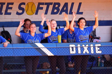 Dixie vs. Oaks Christian, CA, St. George, Utah, Mar. 14, 2015 | Photo by Robert Hoppie, ASPpix.com, St. George News