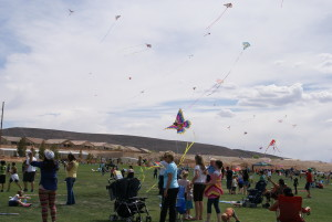 Kites at the 15th annual Dixie Power Kite Festival at SunRiver Golf Course, St. George, Utah, April 12, 2014 | Photo by St. George News