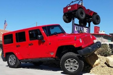 Dixie 4 Wheel Drive's completed custom Jeep, St. George, Utah, date not specified | Photo courtesy of Bryce Thompson, St. George News
