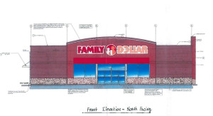 Family Dollar Front View