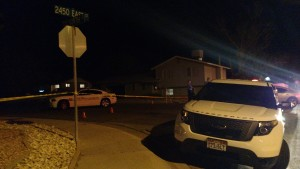 A man is dead from a self-inflicted gunshot wound following an incident that began on the 2000 East block of 700 North, St. George, Utah, March 17, 2015 | Photo by Mori Kessler, St. George News