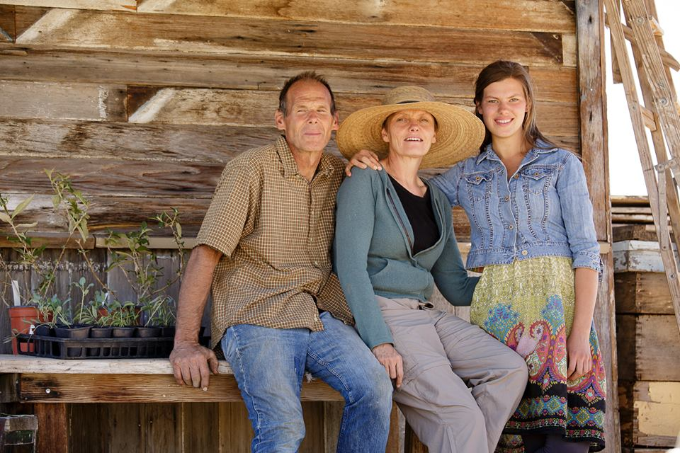 L-R: Lynn, Symbria and Sara Patterson, operators of CSA Red Acre Farm, date not given | Photo from gofundme.com/PattersonFam, St. George News