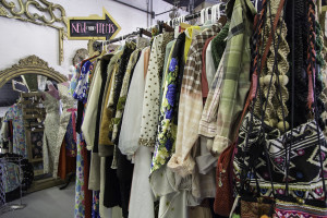 Vintage clothing rack at Recycled Consign and Design located 59 W Center Street, Cedar City, Utah, date not specified | Photo courtesy of Line Uhlen, St. George News