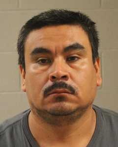 Adalberto Reyes-Rivera, of Carter Lake, Iowa, booking photo posted March 22, 2015 | Photo courtesy of Washington County Sheriff's booking, St. George News
