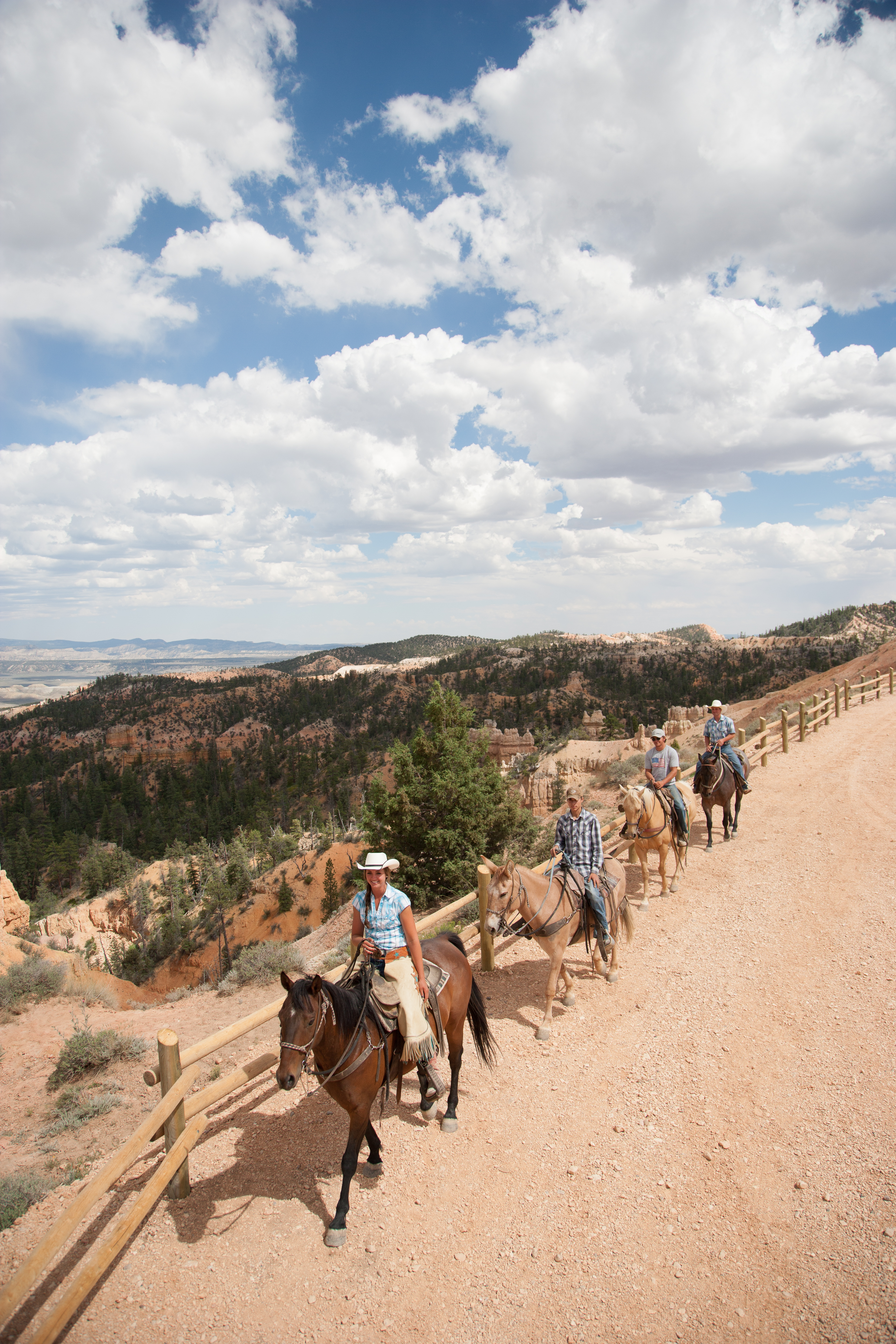 Horseback riding is among the activities available at Bryce Canyon National Park and Historic Ruby's Inn, Bryce Canyon City, Utah, date not specified | Photo courtesy of Ruby's Inn, St. George News