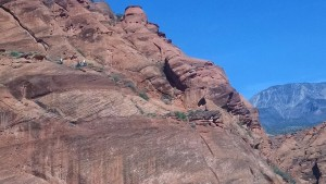 Washington County Search and Rescue help stranded hikers in the Red Cliffs Recreation Area, March 26, 2015   Photo courtesy of Washington County Search and Rescue, St. George News