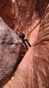 Washington County Search and Rescue rescue a man in Snow Canyon State Park, Ivins, Utah, March 11, 2015 | Photo courtesy of Washington County Search and Rescue, St. George News