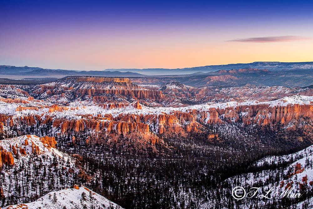 """Bryce Canyon, photo submitted by Terry Mair to Ruby's Inn for its """"Winter Fest Photo Contest"""" at Bryce Canyon, Utah, February 2015 