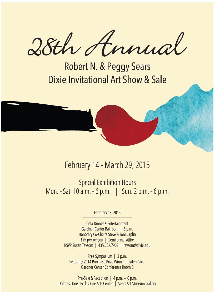 art show poster