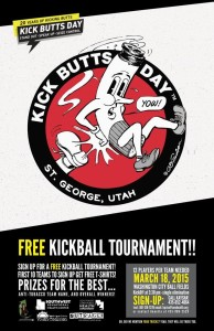 Flyer for the kickball tournament, undated | Image courtesy of Southwest Utah Public Health Department, St. George News