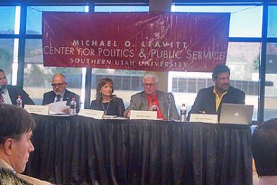 Southern Utah University immigration forum, Cedar City, Utah, March 26, 2015 | Photo by Leo Wright, St. George News