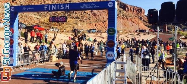 2 180 Racers Participate In Zion Half Marathon Third Consecutive Title For Men S Winner