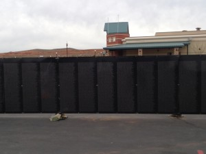 """""""The Wall That Heals"""" arrives at Zion Harley Davidson, Washington City, Utah, March 11, 2015 