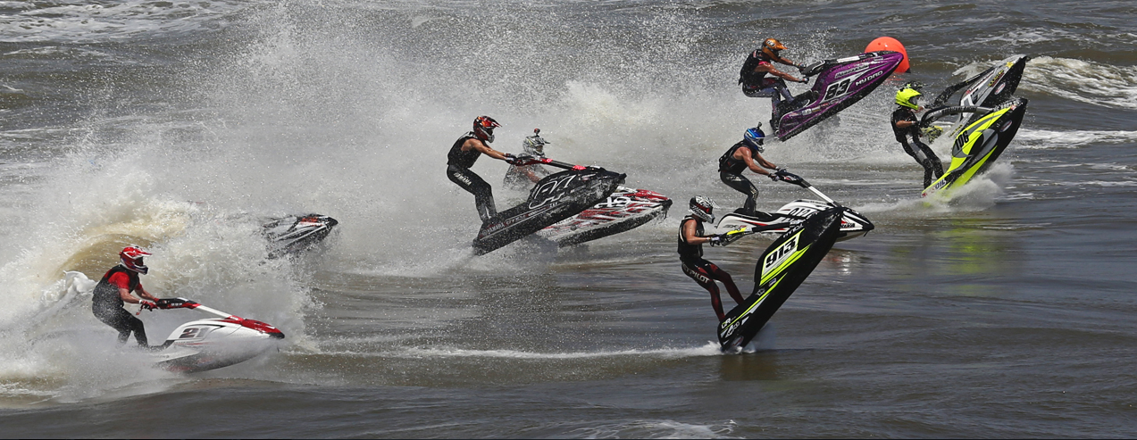 Jet ski race on the Pro Watercross Tour, location not specified, pre-2015 | Photo courtesy of Pro Watercross Tour, St. George News
