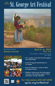 St. George Art Festival Poster | Image courtesy of St. George City, St. George News