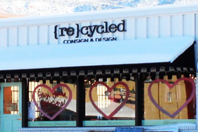 Exterior of Recycled Consign and Design located 59 W Center Street, Cedar City, Utah, Feb. 24, 2015 | Photo by Devan Chavez, St. George News