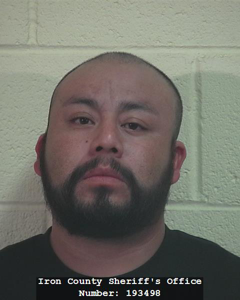 Juan Pablo Sanchez, Iron County Jail, Cedar City, Utah, March 13, 2015 | Photo courtesy of Iron County Bookings, St. George News