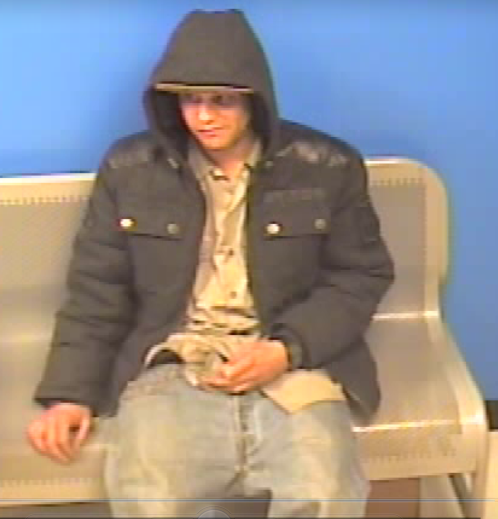 Police are seeking the public's aid in identifying this man who is suspected of committing retail-theft at the Bloomington Wal-Mart, St. George, Utah, Feb. 22, 2015   Photo courtesy of the St. George Police Department, St. George News