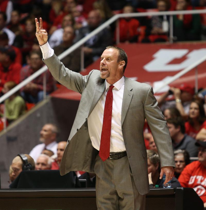 Coach Larry Krystkowiak