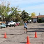 Hunter Jones, 13 years old, finished second overall in the 5k, Cedar City, Utah, May 17, 2014 | Photo courtesy of Iron County Children's Justice Center