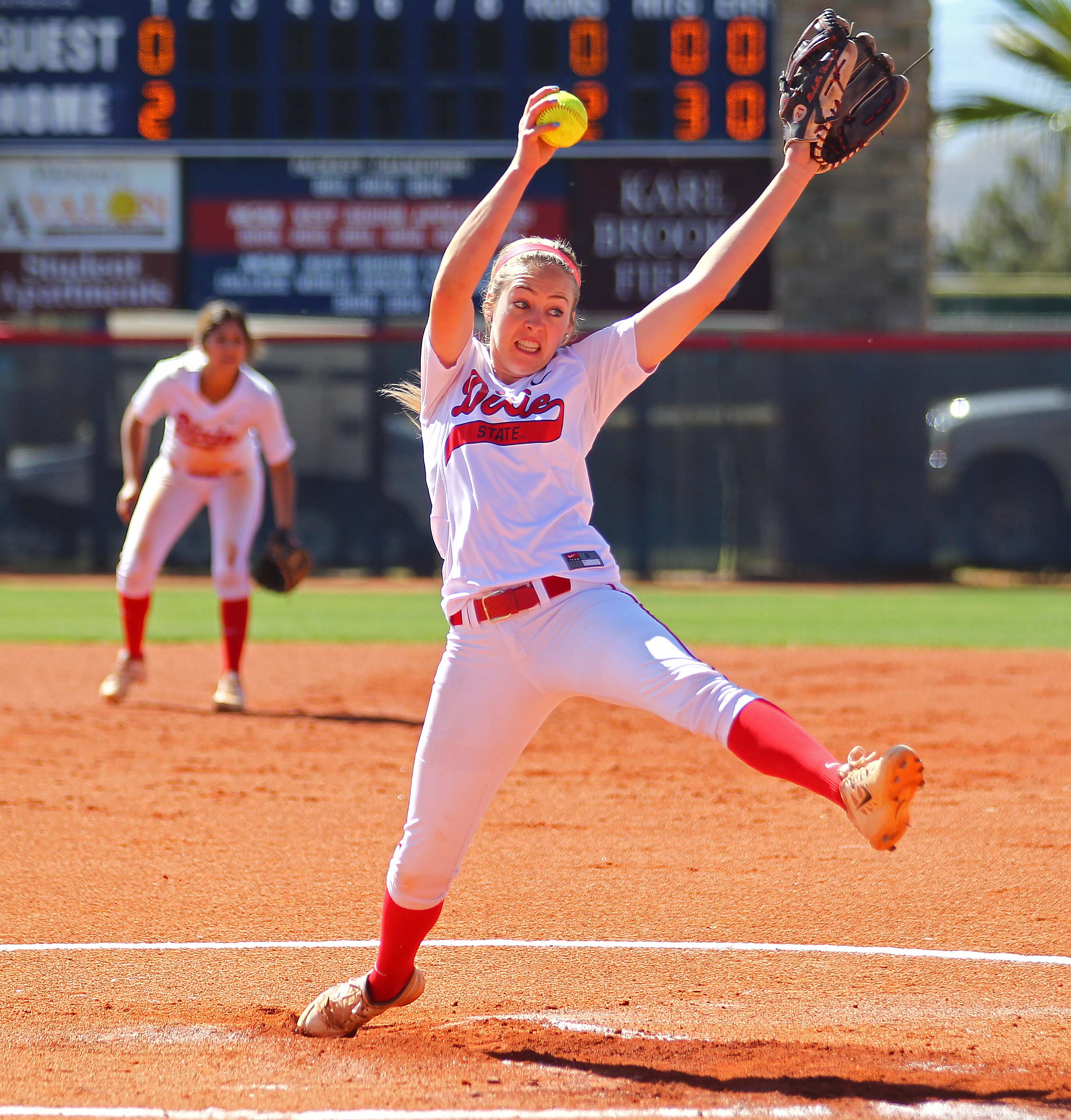 Softball: Dixie State Softball Soaring Ever Higher With Two Aces And