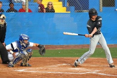 Pine View vs. Dixie, Baseball, St. George, Utah, Apr. 14, 2015 | Photo by Robert Hoppie, ASPpix.com, St. George News