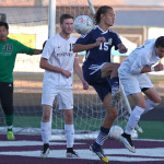 Snow Canyon vs. Pine View, Soccer, St. George, Utah, Apr. 17, 2015 | Photo by Robert Hoppie, ASPpix.com, St. George News