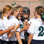 Canyon View vs. Snow Canyon, Softball, St. George, Utah, Apr. 1, 2015 | Photo by Robert Hoppie, ASPpix.com, St. George News