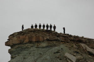 Fallen Peace Officer Trail event, Moab, Utah, April 18, 2014 | Photo courtesy of Utah Peace Officers, St. George News
