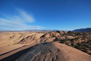 Slick rock on Hell's Revenge trail, Moab, Utah, Nov. 11, 2014   Photo by Leanna Bergeron, St. George News