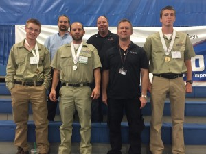 Dixie Applied Technology College students take honors at the SkillsUSA Utah Championships, Salt Lake City, Utah, March 28, 2015 | Photo courtesy of DXATC, St. George News