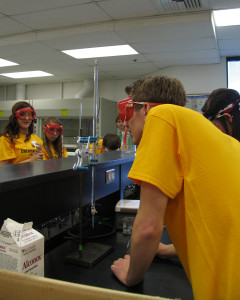 The 2015 Chemical Olympics competition, Southern Utah University, Cedar City, Utah, April 24, 2015 | Photo by Carin Miller, St. George News