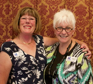 Martha Heuer and Marilyn Valle, current and founding presidents ALSU, St. George, Utah, April 11, 2015 | Photo by Rhonda Tommer, St. George News