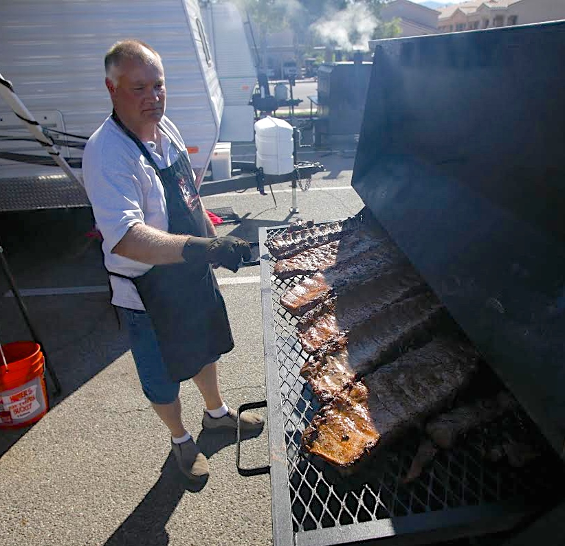 """Smokin' in Mesquite"" barbeque competition, Mesquite, Nevada, 2014 