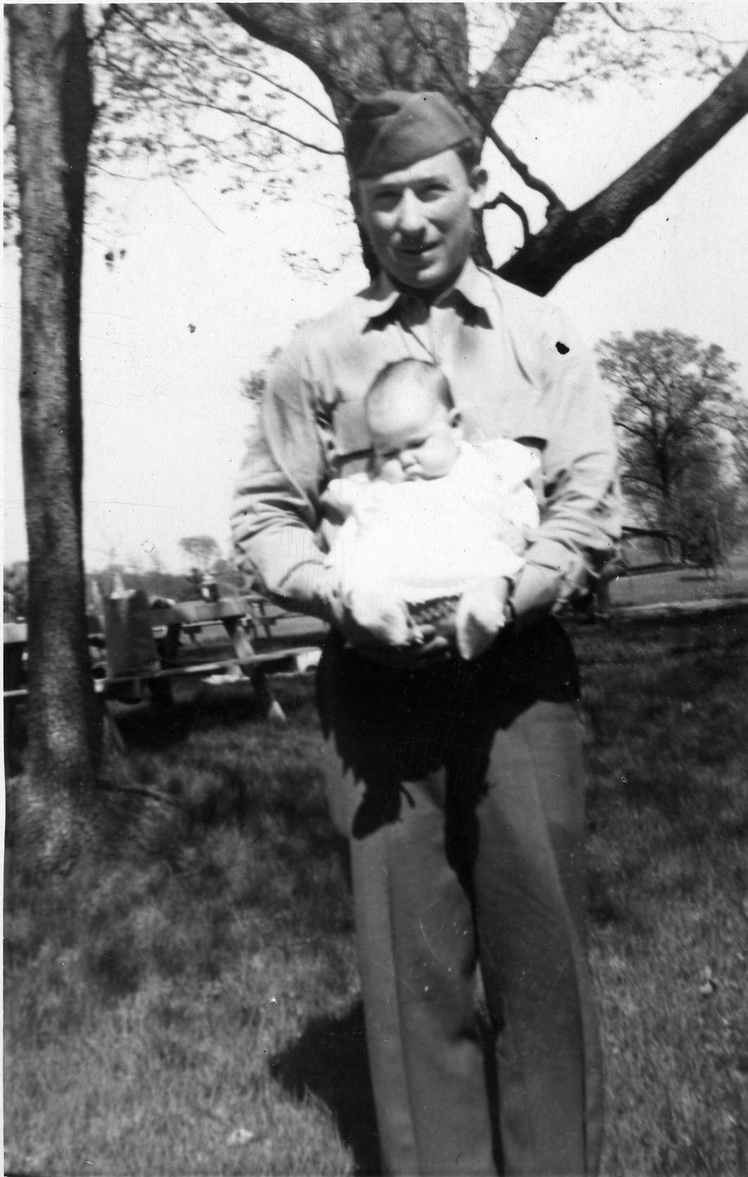 Jack Badger, WWII era | Photo courtesy of Bryan Hyde, St. George News