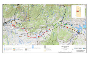 Map of proposed Lake Powell Pipeline | Image courtesy of Washington County Water Conservancy District, St. George News | Click on image to enlarge