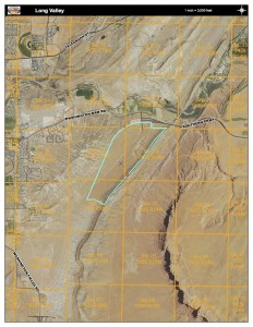 Proposed Long Valley exchange parcel | Image courtesy Washington County Geographical Information Systems