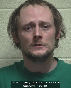 Jason Ballenger, booking photo posted April 20, 2014 | Photo courtesy of Iron County Sheriff's Office, St. George News