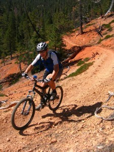 Mountain biking near Bryce Canyon National Park, Utah, date not specified | Photo courtesy of Ruby's Inn, St. George News