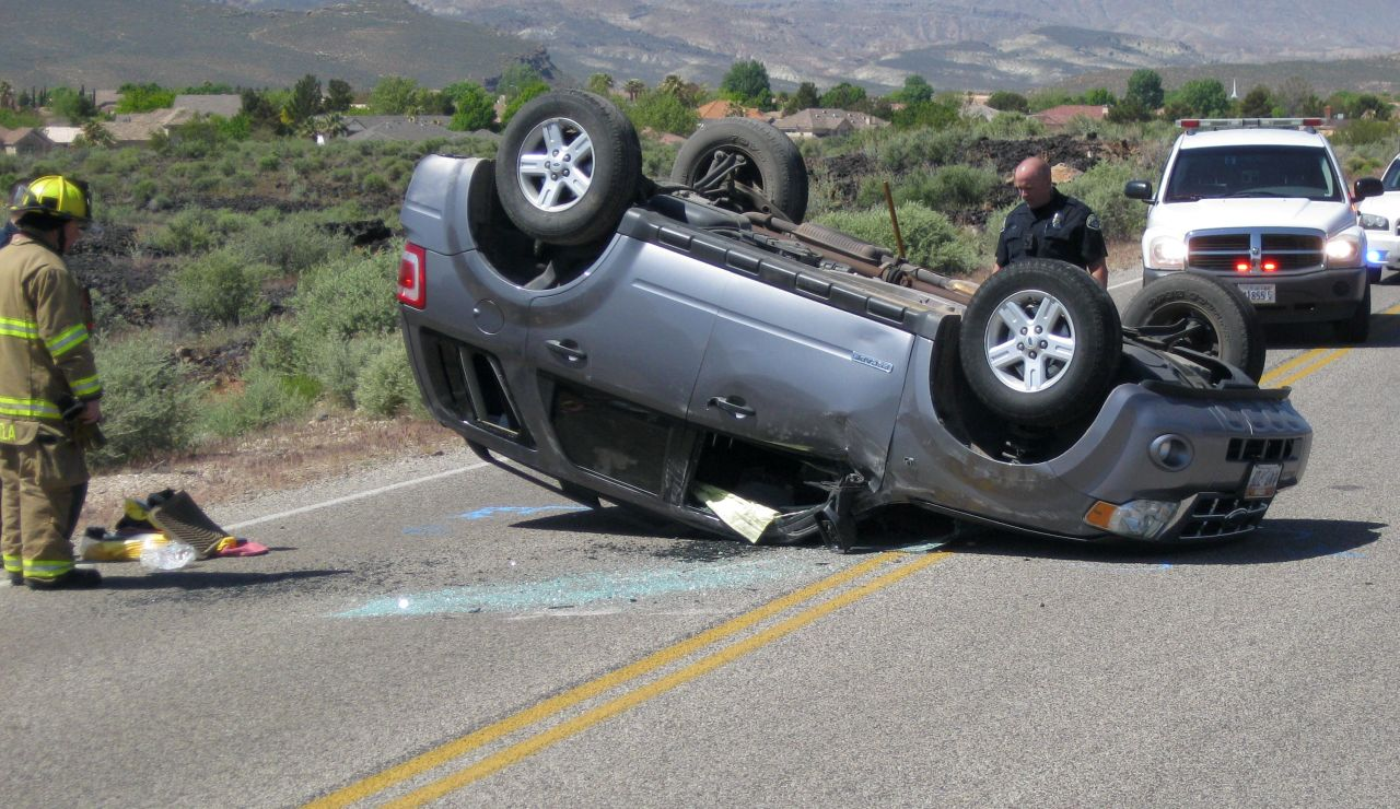 Car Accident  Rollover