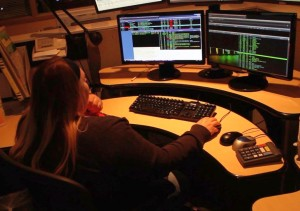 A dispatcher works in the St. George Communications Center March 26, 2015 | Photo by Ric Wayman, St. George News
