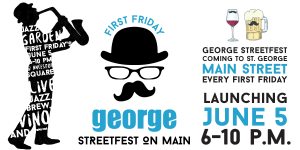 Flyer for the George Streetfest, St. George, Utah, undated | Image courtesy of the George Streetfest, St. George News